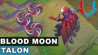 Blood Moon Talon Skin Spotlight (League of Legends)