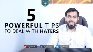 5 Powerful Tips To Deal With Haters – Muiz Bukhary