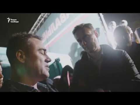 Как водитель маршрутки в Астрахани агитирует за Навального