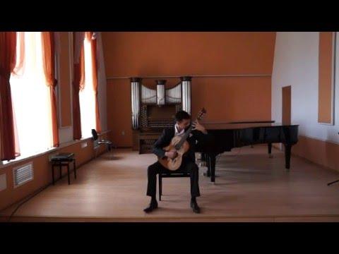 Бах Иоганн Себастьян - BWV 997 - Партита для лютни и клавишных (до минор)