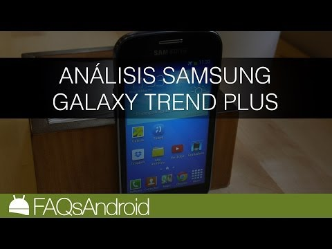 Análisis del Samsung Galaxy Trend Plus en español   FAQsAndroid.com