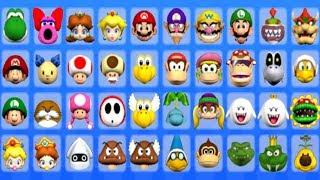 Mario Super Sluggers - All Characters