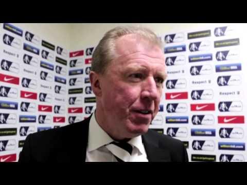 DERBY COUNTY 2-0 CHESTERFIELD | Steve McClaren Post Match