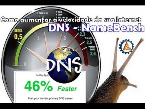 Como aumentar a velocidade da sua Internet - Teste de Desempenho de DNS - Namebench