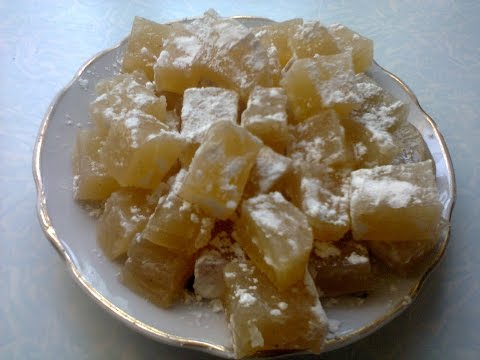Восточное лакомство Рахат-лукум.  Eastern delicacy Turkish Delight.