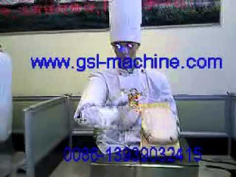 sliced noodles robot