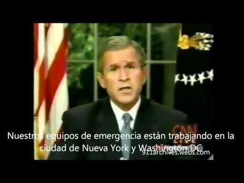 discurso de George Bush 11 de septiembre del 2001