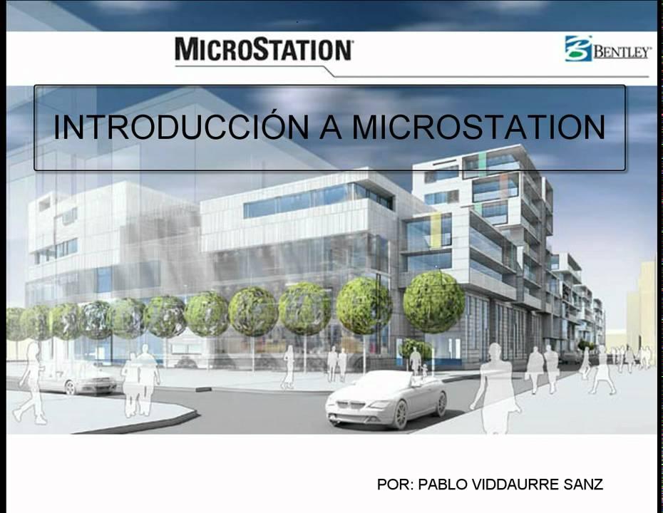 Introducci 243 N A Microstation Esp Youtube