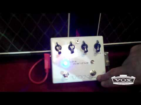 Joe Satriani Vox Ice 9 Overdrive Pedal Demo video