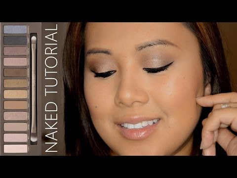 Naked Original Talk Through Tutorial (Hooded/Asian Eyes) | FromBrainsToBeauty