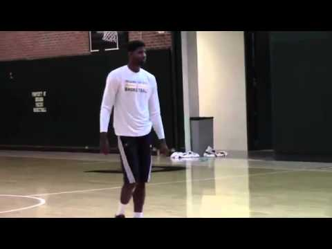 Paul George Comeback From Injury update: Practices Jump Shots at Pacers Practice