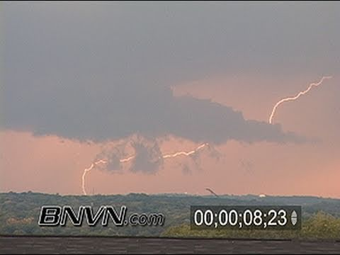 9/26/2007 Daylight Lightning Footage From Burnsville, MN