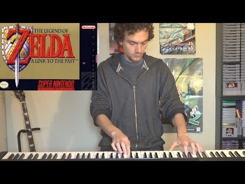 Koji Kondo - The Legend Of Zelda A Link To The Past Triforce Intro Theme