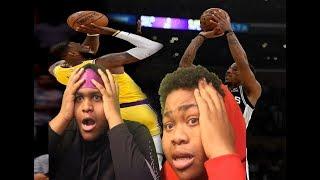 DeMar DeRozen Is More Clutch Then LeBron (Lakers Spurs Reaction Video)
