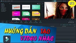 Hướng Dẫn tạo Video Âm Nhạc Để Kiếm Tiền với Youtube Bằng Filmora Wondershare ✅