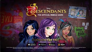 Descendants, The Official Mobile Game - The Isle of the Lost Trailer!