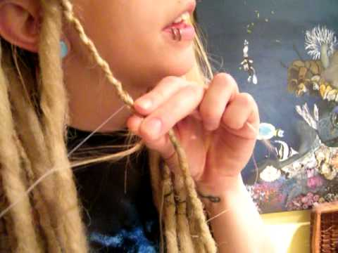 Double Ended Synthetic Dread Lock Installation Tutorial