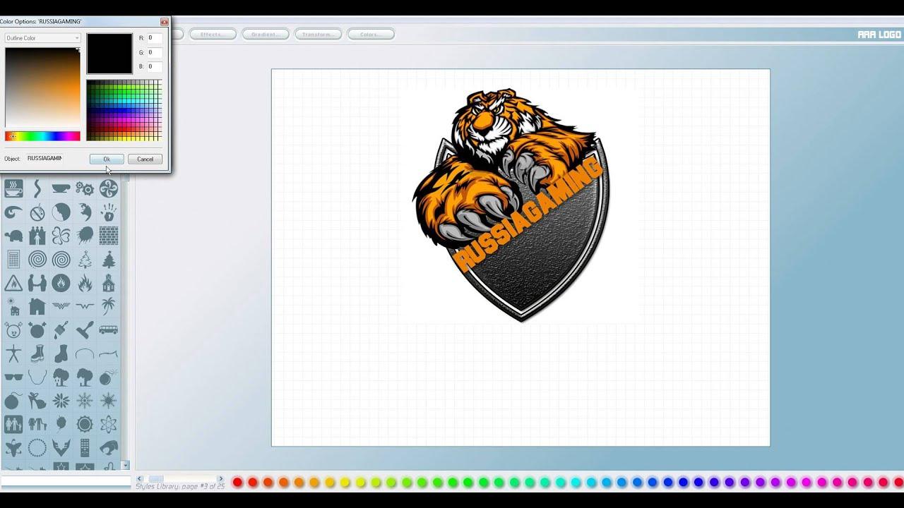 Как сделать крутящийся логотип в фотошопе