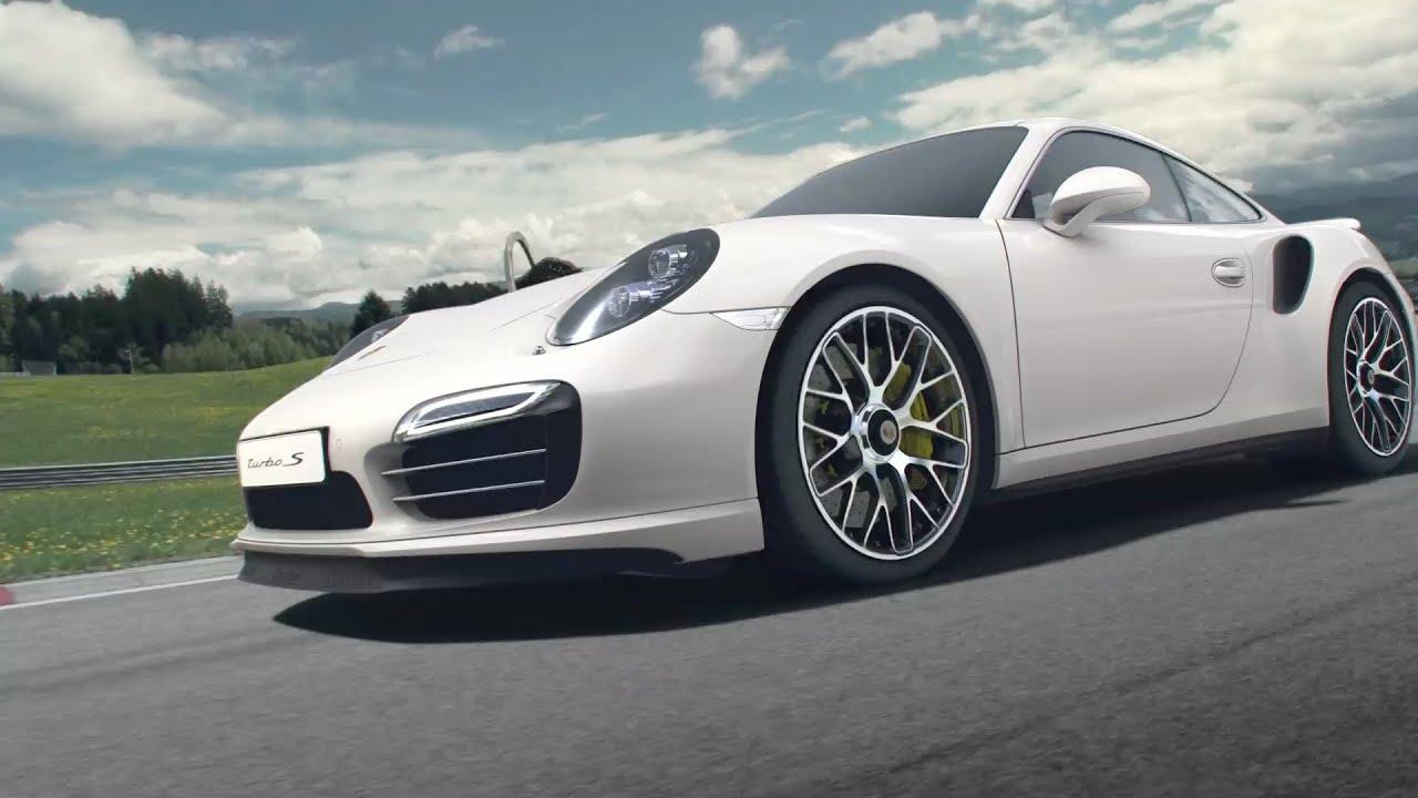 2014 porsche 911 turbo s aerodynamics youtube. Black Bedroom Furniture Sets. Home Design Ideas