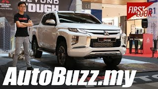 2019 Mitsubishi Triton VGT Adventure facelift First Look - AutoBuzz.my