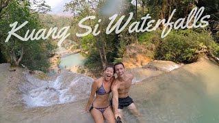 SECRET POOL Kuang Si Waterfall | Luang Prabang