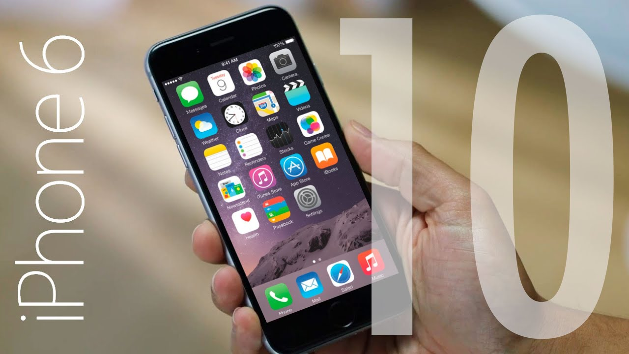top 10 iphone 6 new features youtube. Black Bedroom Furniture Sets. Home Design Ideas