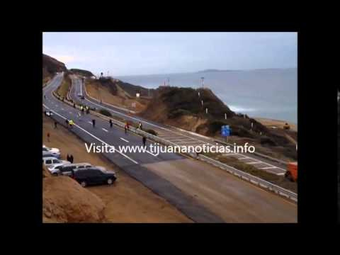 CARRETERA ESCENICA RE ABIERTA ENSENADA BAJA CALIFORNIA