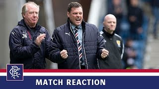 download lagu Reaction  Graeme Murty  Rangers 2-1 Hearts gratis