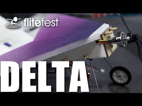 Flite Test - Delta Wing - PROJECT