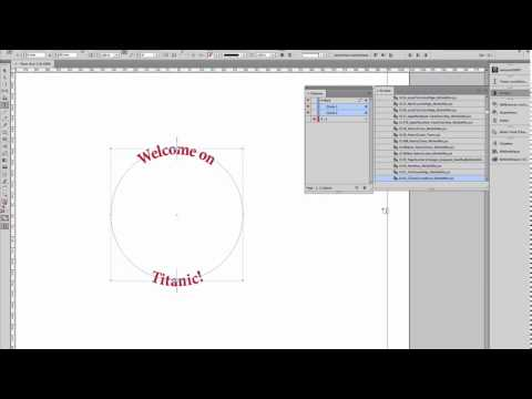 InDesign: Text On Curved Line! ... (^/) ;-)