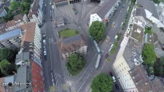 Basel | Tram Depot Wiesenplatz | Luftaufnahme (Kurzversion)