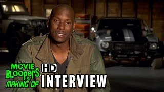 Furious 7 (2015) Behind The Scenes Movie Interview - Tyrese Gibson (Roman)