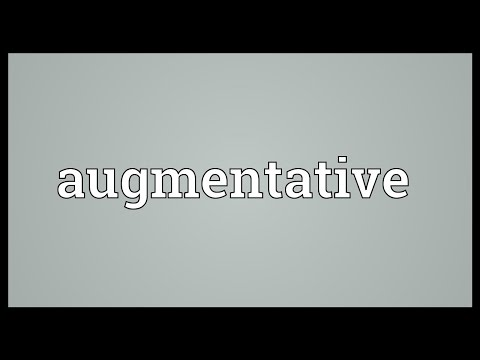 Header of augmentative