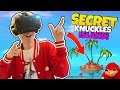 HOW TO FIND THE SECRET UGANDAN KNUCKLES TRIBE ISLAND | VRChat: Funny Moments (HTC Vive Gameplay)