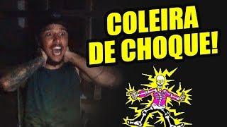 FUI CASTIGADO COM UMA COLEIRA DE CHOQUE E MEXENDO COM MARIMBONDOS!