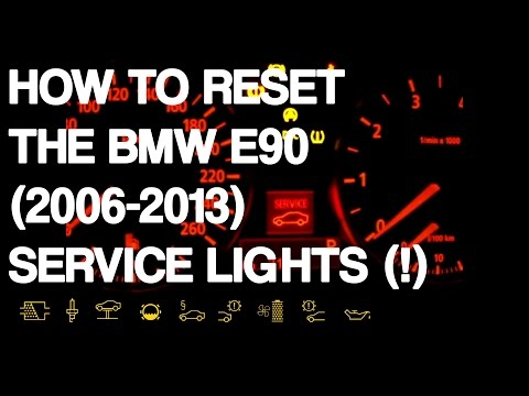Reset BMW 3-Series E90 Service Lights