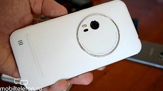 Распаковка ASUS Zenfone Zoom с белой кожей + примеры фото (unboxing)