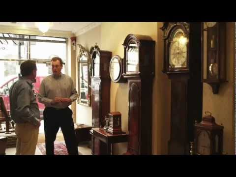 Antique Clocks: Antique Grandfather Clocks: National TV Footage