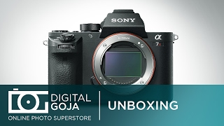 SONY ALPHA A7R II Full-Frame Mirrorless Digital Camera | Unboxing Video