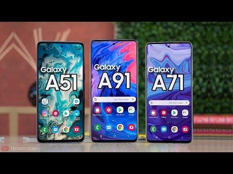 Samsung Galaxy A51  Galaxy A71  Galaxy A81 amp Galaxy A91 - IT39S ALL HERE!