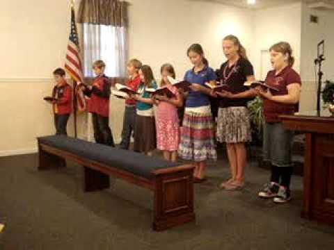 """Upson Christian Academy singing """"Have Faith in God"""""""