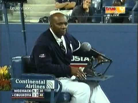 Ridiculous shot from Cibulkova vs Wozniacki - US Open 2010