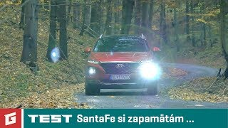 Hyundai SantaFe 2018 4WD - SUV - TEST - GARAZ.TV