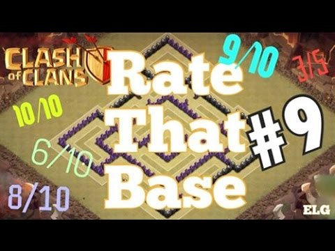 Clash of Clans Epic War/Trophy Base - Good Defensive Base - Town Hall 7 - RTB #9