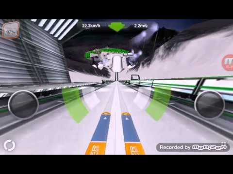 Skoki Narciarskie - Gra Na Telefon: Super Ski Jump
