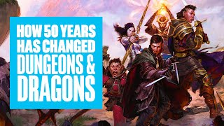 How Much Has Dungeons And Dragons Changed Over 50 Years?