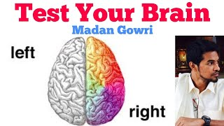 Test Your Brain | Tamil | Madan Gowri