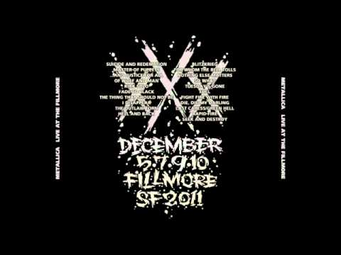 Metallica - Tuesday's Gone [Live December 9, 2011 @ Fillmore, SF]