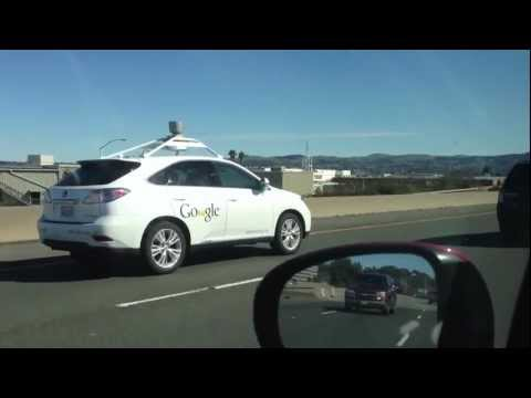 Google self-driving car - Speeding!