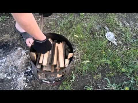 Коптильня горячего копчения своими руками